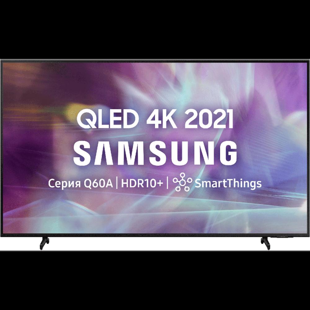 Фото - Телевизор 65 Samsung QE65Q60AAU (4K UHD 3840x2160, Smart TV) черный 4k uhd телевизор samsung ue70au7100uxru