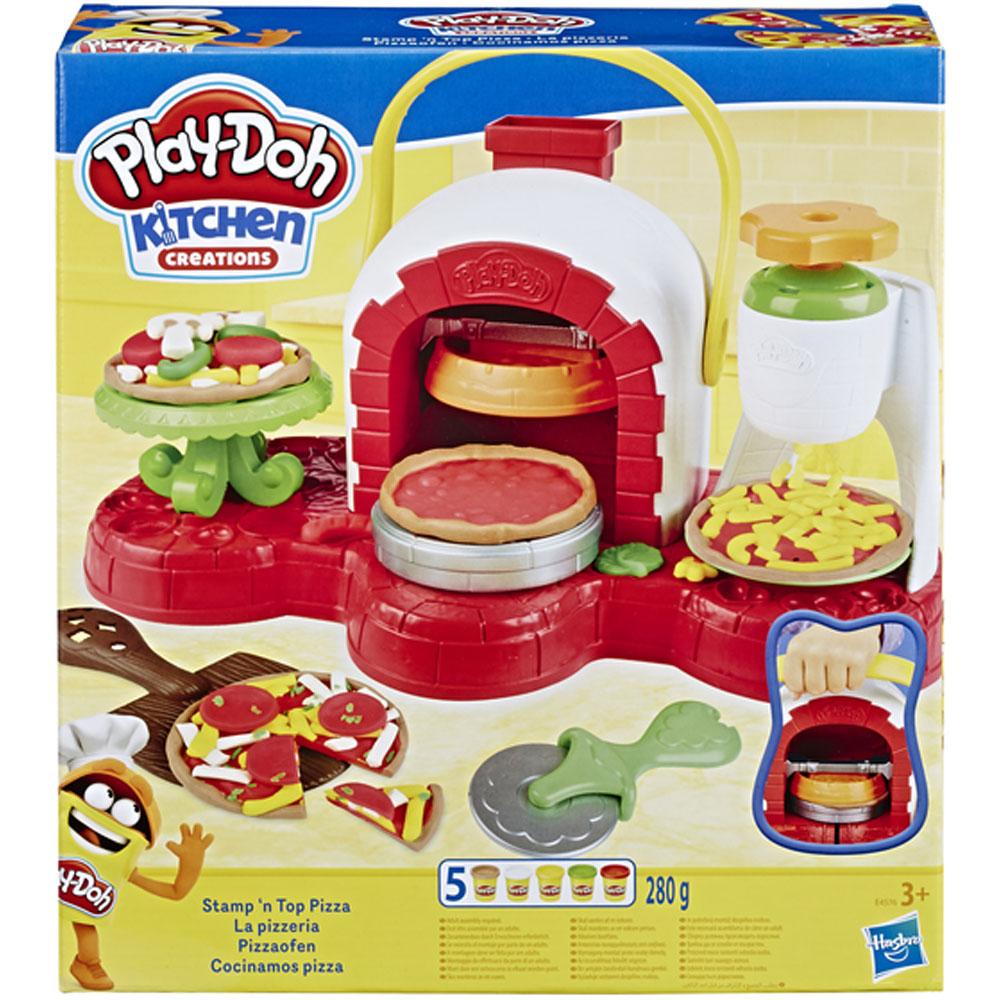 Фото - Игровой набор с пластилином Hasbro Play-Doh E4576 Печем Пиццу игровой набор специальной массы hasbro play doh wheels e4508