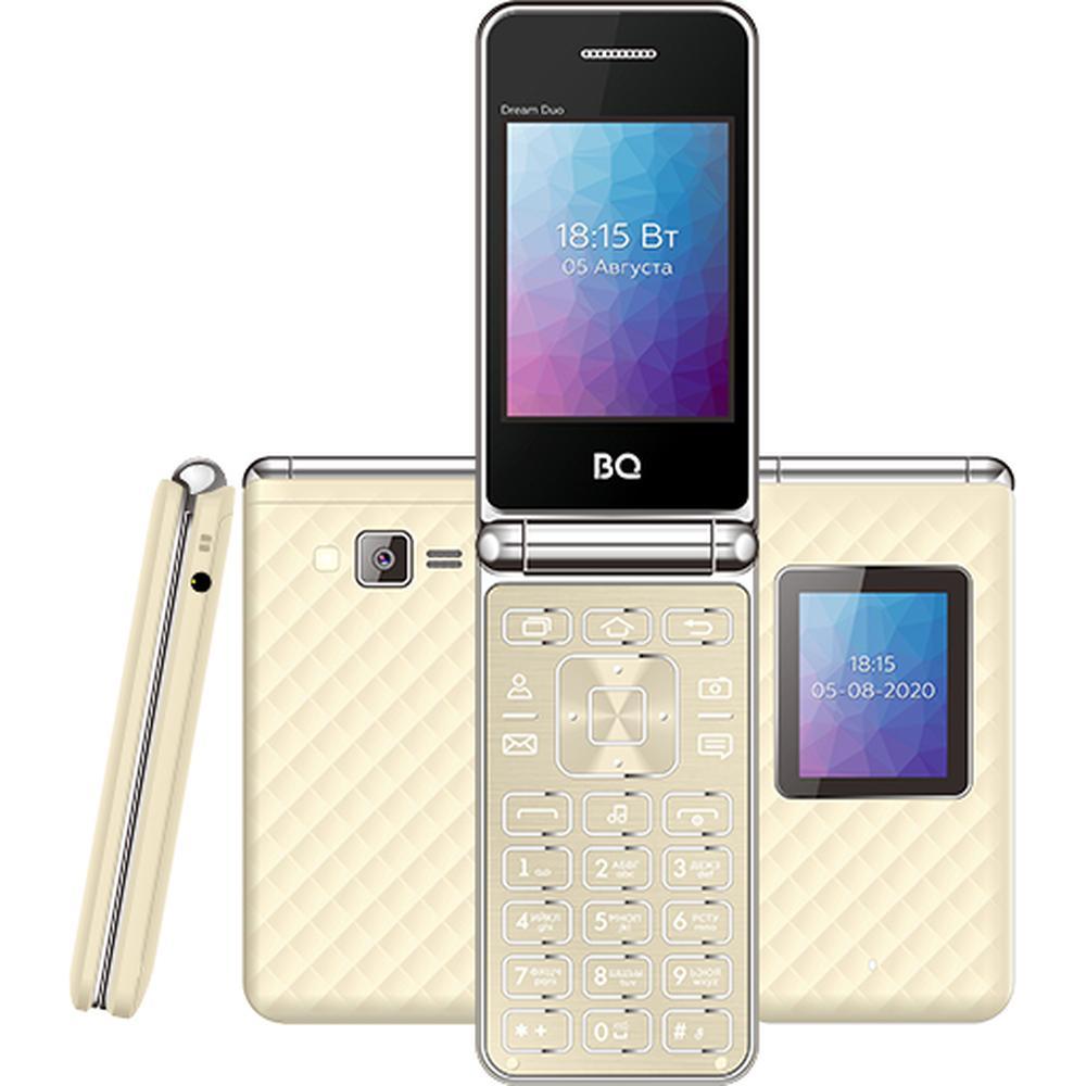 Мобильный телефон BQ Mobile BQ-2446 Dream Duo Gold мобильный телефон bq 2814 shell duo gold