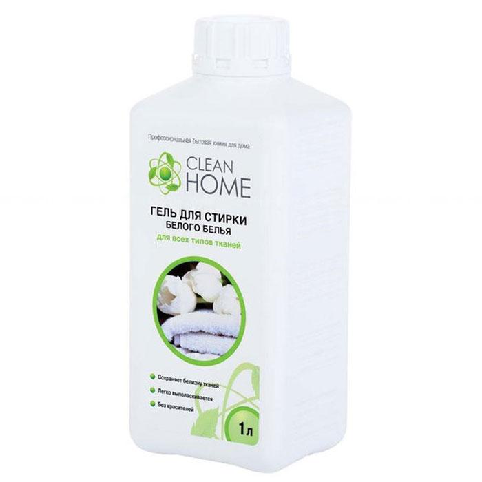 Clean Home Гель для стирки белого белья, 1 л.