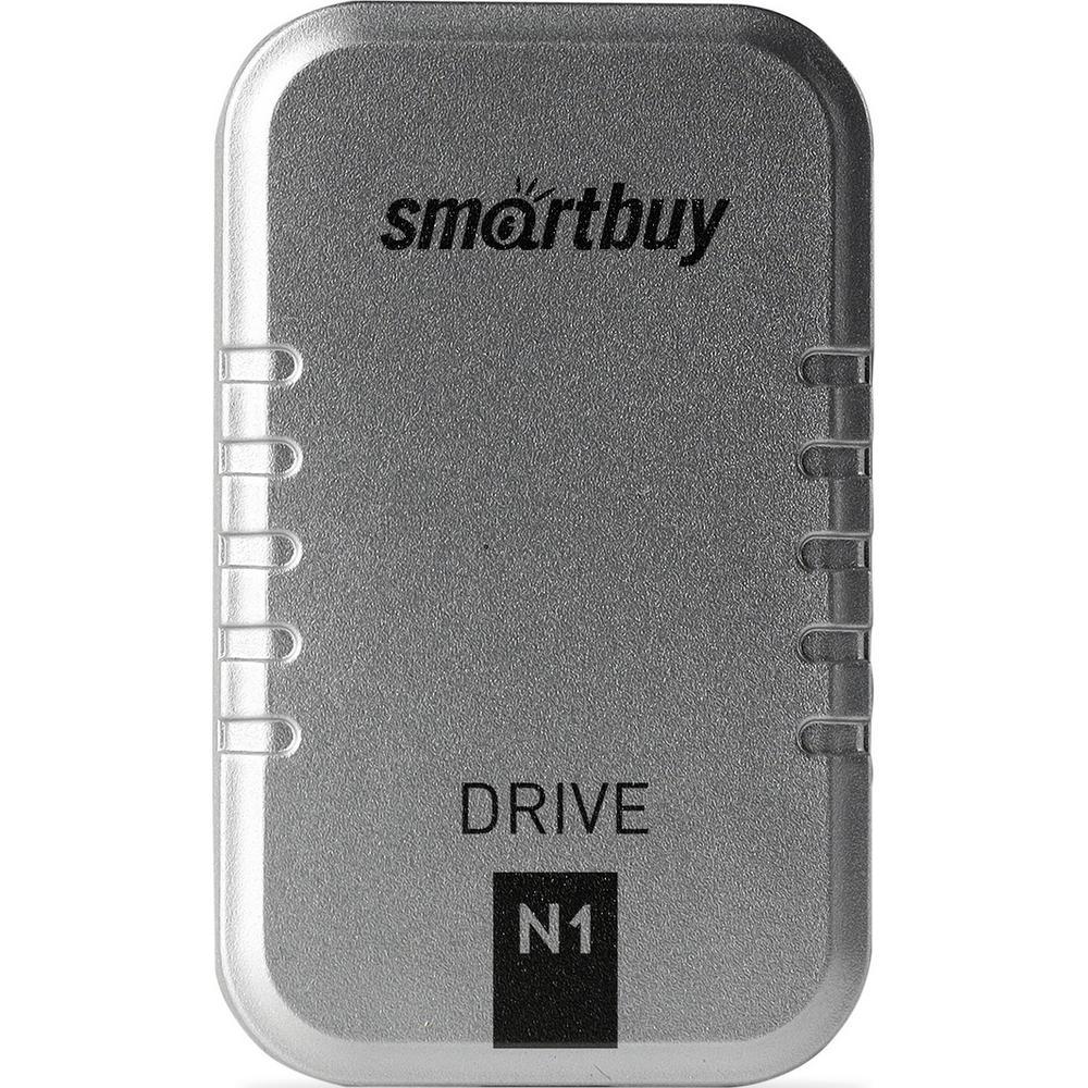 Фото - Внешний SSD-накопитель 1.8 256Gb Smartbuy N1 Drive SB256GB-N1S-U31C (SSD) USB 3.1, Серебристый внешний ssd накопитель 1 8 512gb smartbuy s3 drive sb512gb s3dw 18su30 ssd usb 3 0 белый