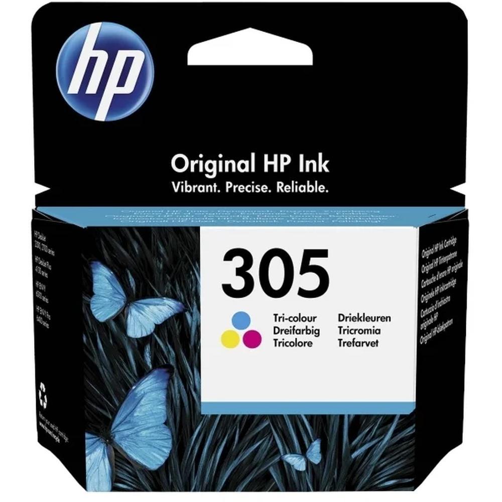 Фото - Картридж HP 3YM60AE №305 Color для HP DJ 2320/271 (100стр) картридж струйный hp 728 f9k17a голубой 300мл для hp dj t730 t830