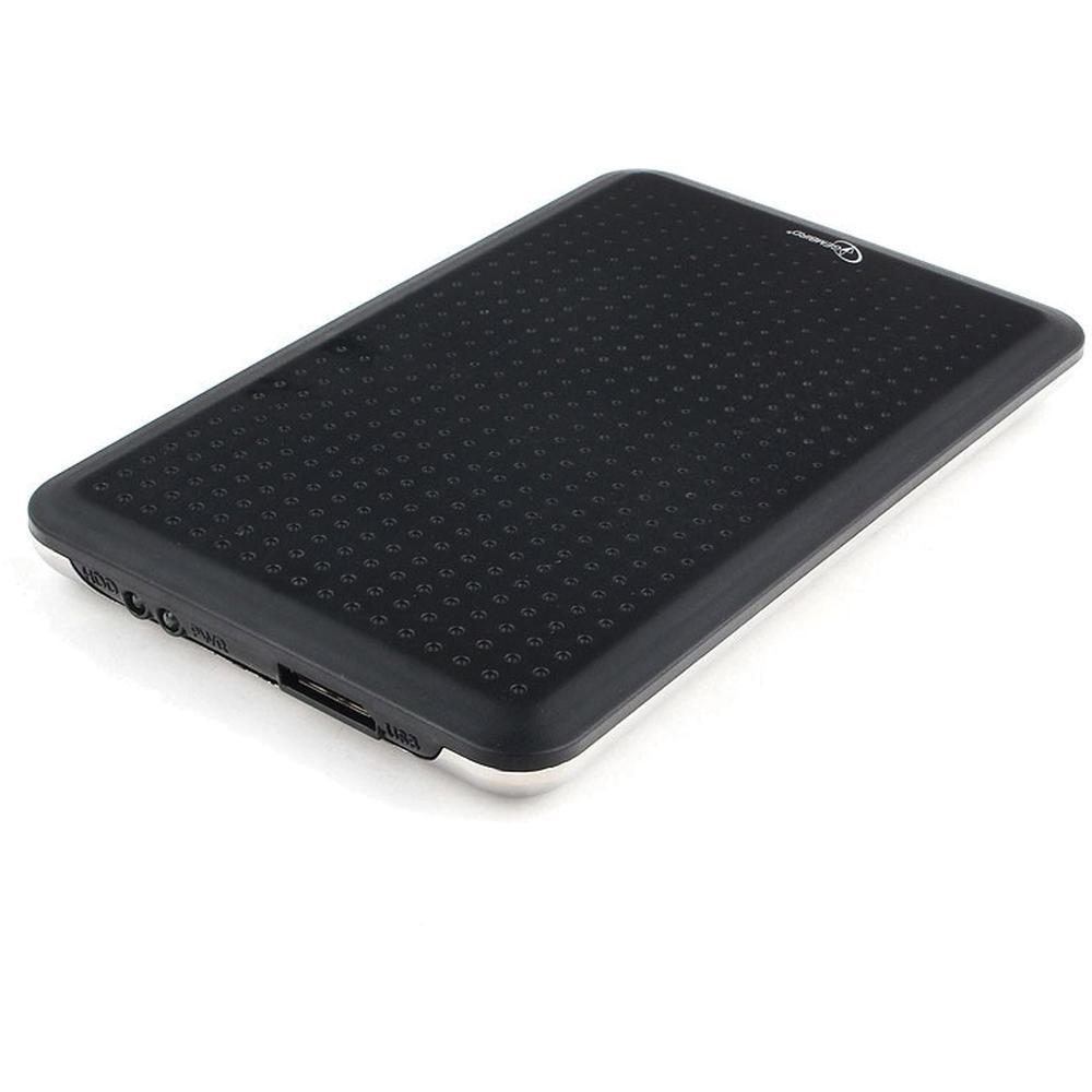 Фото - Корпус 2.5 Gembird EE2-U3S-60, SATA-USB3.0 Black корпус 2 5 gembird ee2 u3s 60 sata usb3 0 black