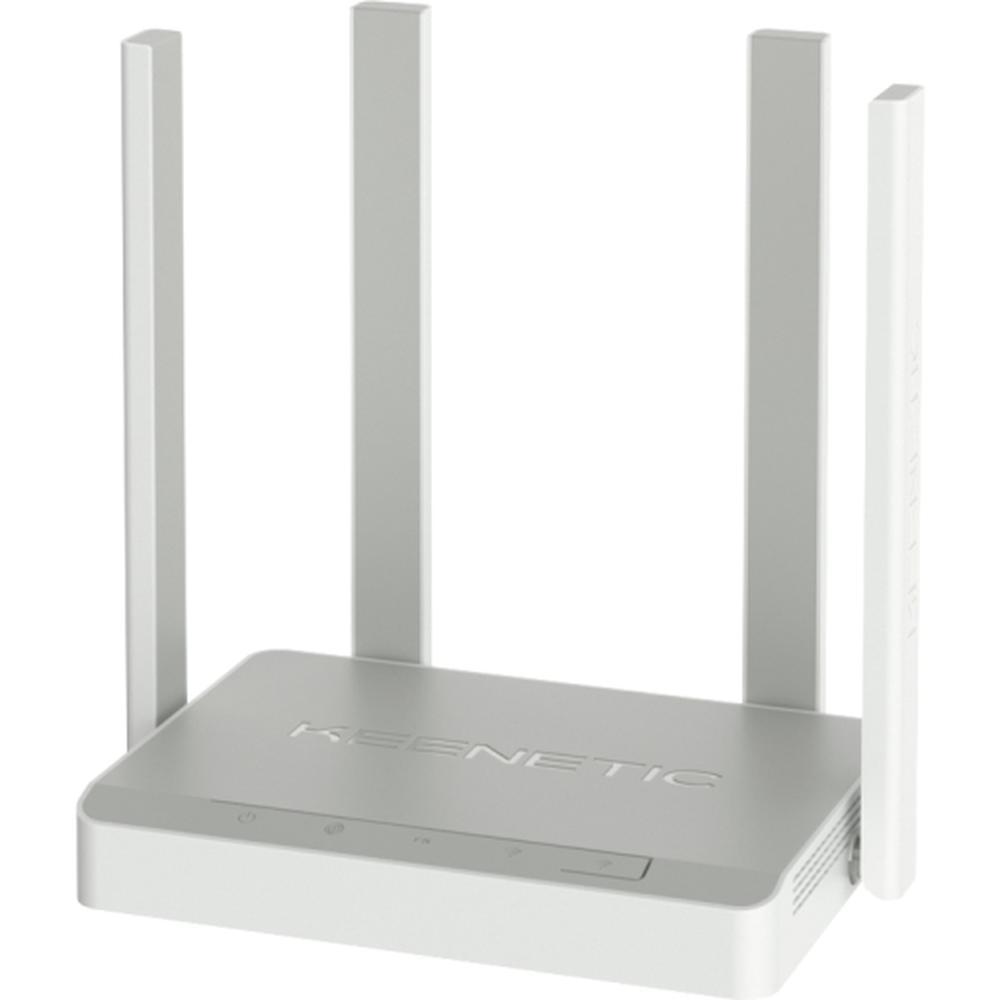Беспроводной маршрутизатор Keenetic Extra (KN-1711), 802.11ac, 1167 (867 + 300) Мбит/с, 2.4ГГц и 5ГГц, 4xLAN, 1xWAN, 1xUSB2.0, поддержка 3G/4G модема