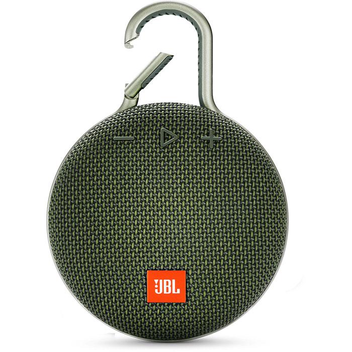 Портативная bluetooth-колонка JBL Clip 3 Green