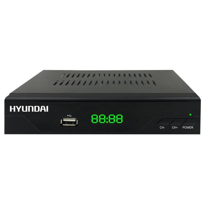 Фото - Ресивер Hyundai H-DVB840 черный DVB-C jacket c h i c