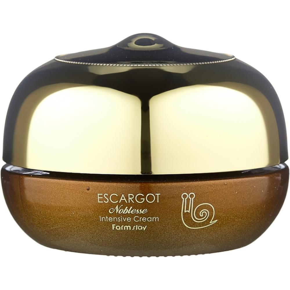 FarmStay Интенсивный крем для лица с муцином королевской улитки Escargot Noblesse lntensive Cream , 50 г. недорого