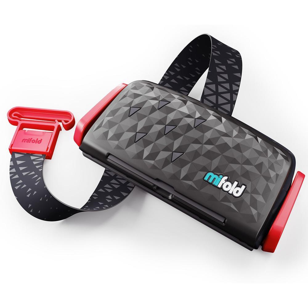 Бустер Mifold the Grab-and-Go Booster seat/Charcoal Grey, темно-серый