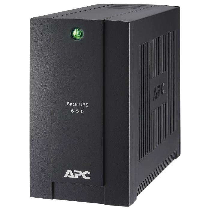 ИБП APC by Schneider Electric Back-UPS 650ВА (BC650-RSX761)