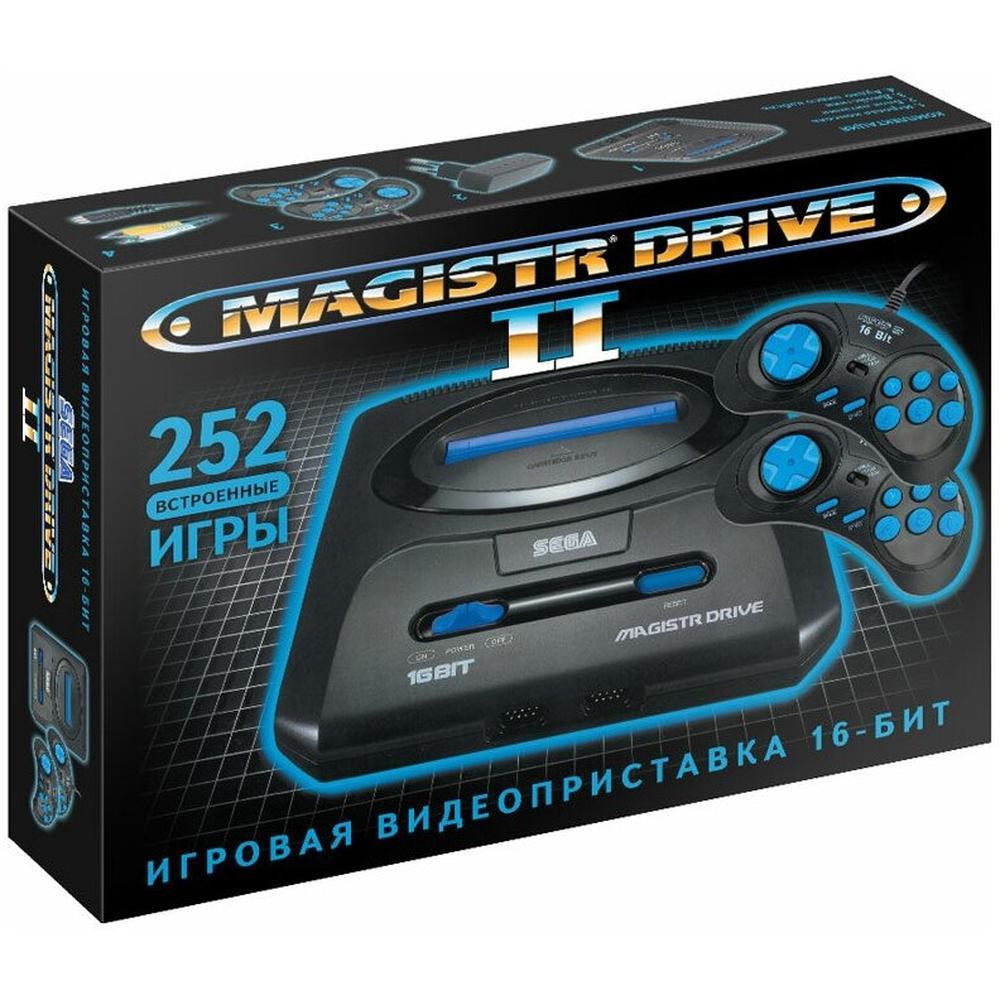 Игровая приставка SEGA Magistr Mega Drive 2 black (252 встроенных игр)