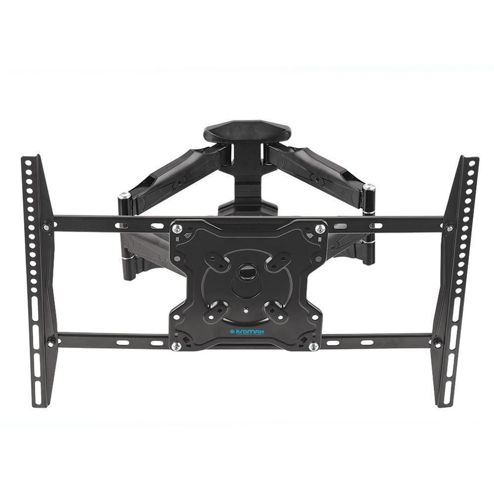 Кронштейн наклонно-поворотный Kromax ATLANTIS-46 22-65' до 45кг Vesa до 600x400 black