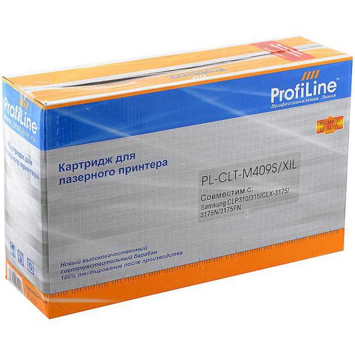 Картридж ProfiLine PL- CLT-M409S Magenta для Samsung CLP-310/CLP-315/CLX3170/CLX3175 (1000стр)