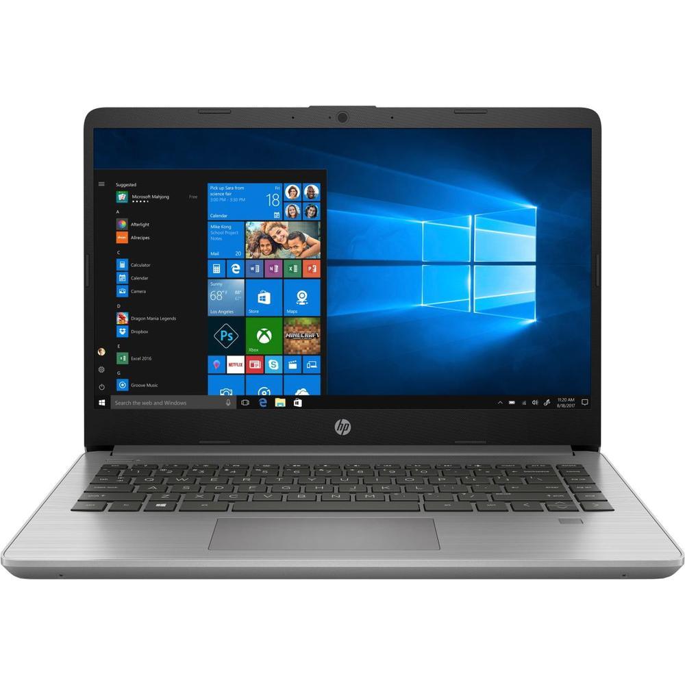 Ноутбук HP 340S G7 Core i3 1005G1/8Gb/256Gb SSD/14 FullHD/Win10Pro Silver ноутбук hp 250 g6 1xn67ea core i7 7500u 4gb 1tb 15 6 fullhd dvd win10pro silver