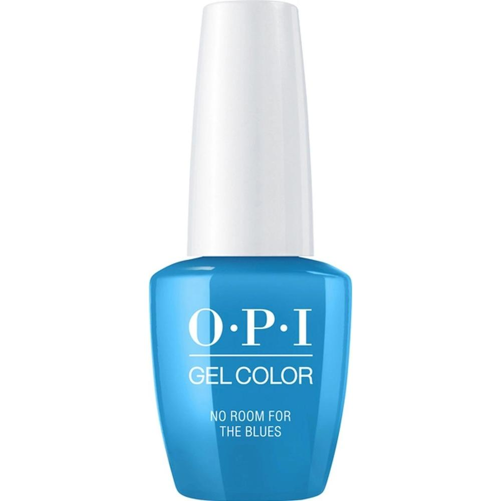 Фото - OPI Гель-лак для ногтей Classics GelColor No Room For The Blues, 15 мл. opi гель лак для ногтей gelcolor iceland check out the old geysirs 15 мл
