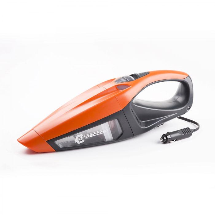 Автомобильный пылесос Агрессор AGR-170T, 12V, 2-х скоростной, cyclonic action, LED фонарь, 2-ной фильтр, 4 м шнур, 4 насадки, турбо щетка