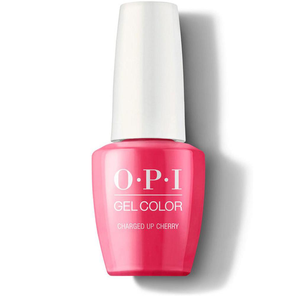OPI Гель-лак для ногтей GelColor Iconic Charged Up Cherry, 15 мл. недорого