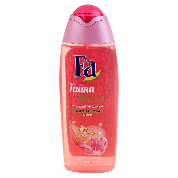 Fa Пена для ванн Тайна масел Розовый жасмин, 500 мл.