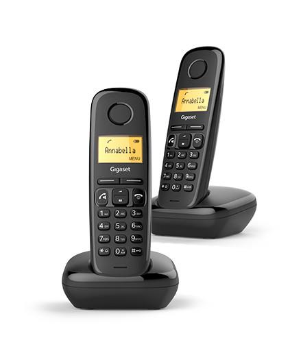 Фото - Радиотелефон Gigaset A270 Duo черный радиотелефон gigaset a270 black
