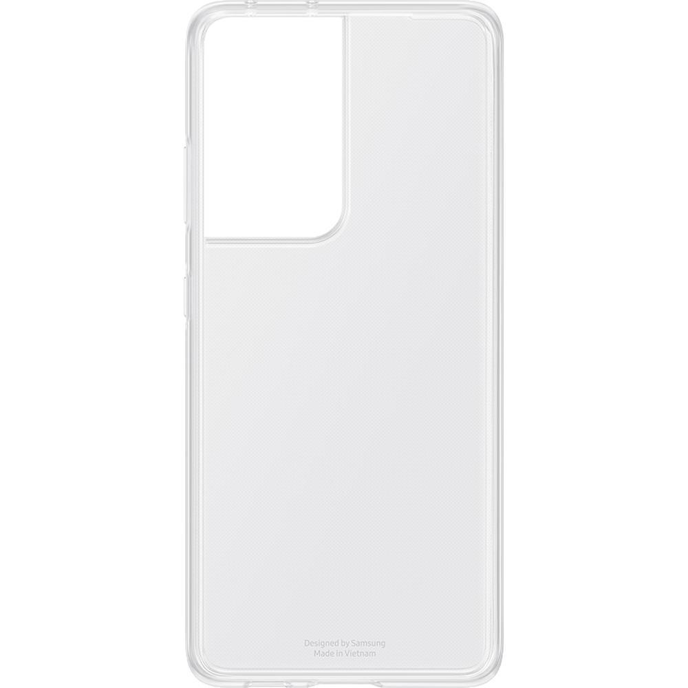 Фото - Чехол для Samsung Galaxy S21 Ultra SM-G998 Smart Clear Cover прозрачный чехол для samsung galaxy note 10 2019 sm n970 clear cover прозрачный