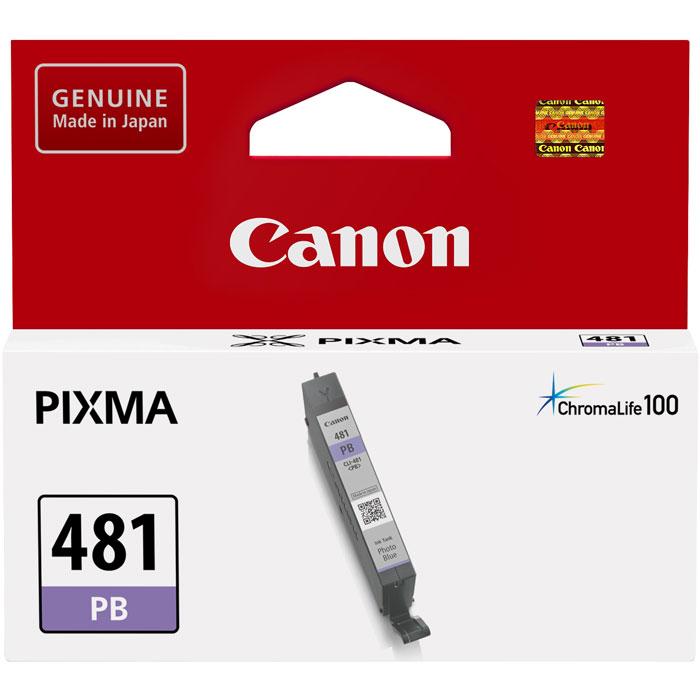 Фото - Картридж Canon CLI-481PB для TS8140, TS9140. Синий для фотографий картридж canon cli 481pb 2102c001 для canon pixma ts8140ts ts9140 голубой