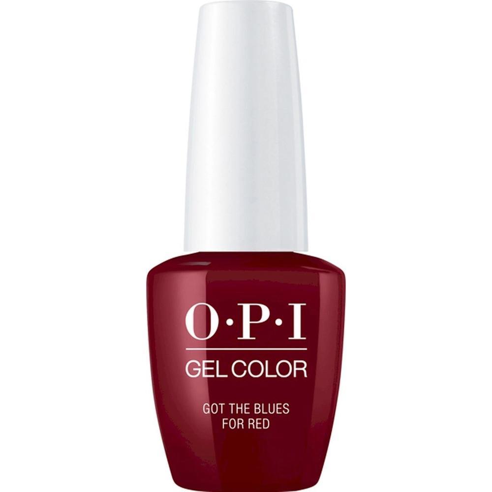 Фото - OPI Гель-лак для ногтей Classics GelColor Got The Blues For Red, 15 мл. гель лак для ногтей opi classics gelcolor 15 мл lincoln park after dark