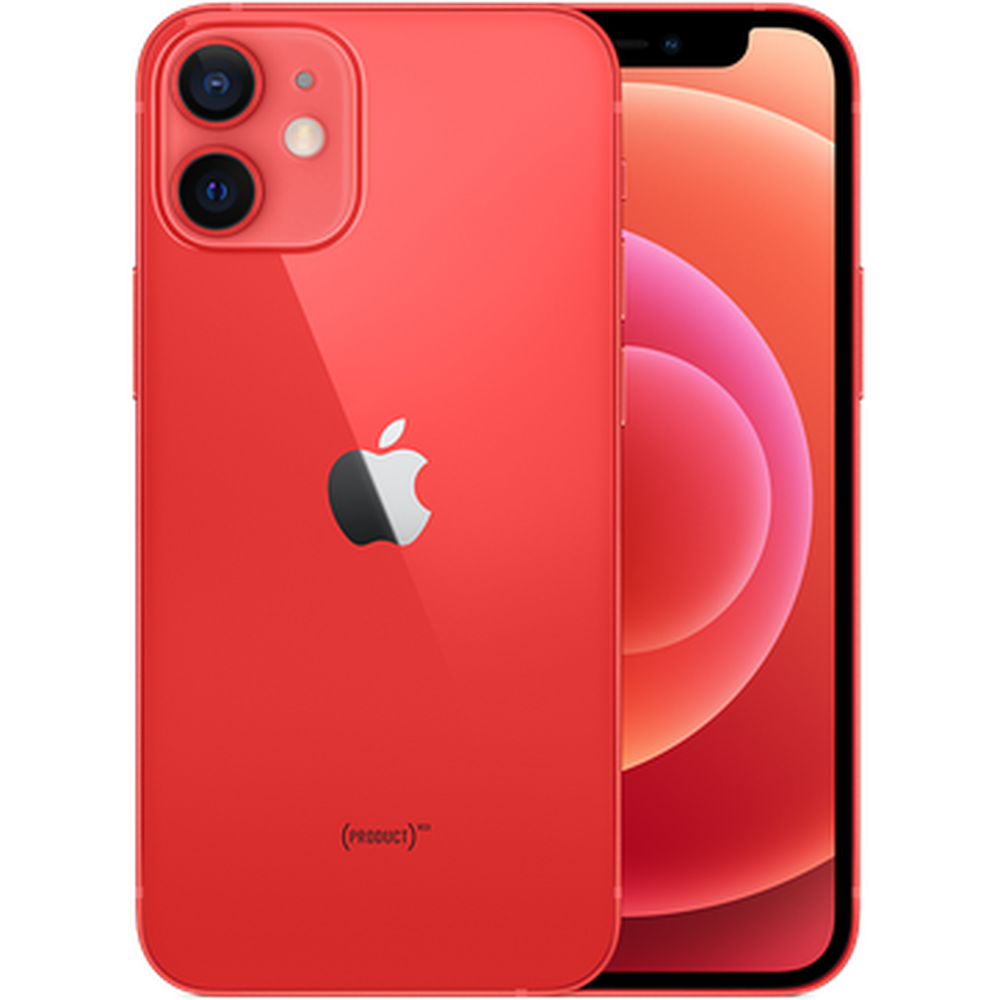 Смартфон Apple iPhone 12 mini 64GB (PRODUCT)RED (MGE03RU/A) сотовый телефон apple iphone 12 mini 64gb red mge03ru a