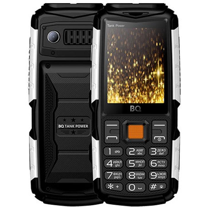 Мобильный телефон BQ Mobile BQ-2430 Tank Power Black/Silver мобильный телефон bq mobile bq 2817 tank quattro power black