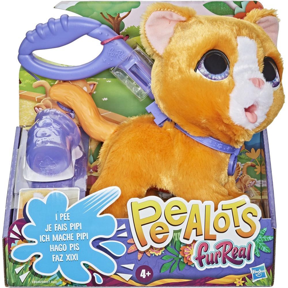Интерактивная игрушка Hasbro FurReal Friends Большой шаловливый питомец E89315L0 Котенок игрушка hasbro trolls большой тролль даймонд
