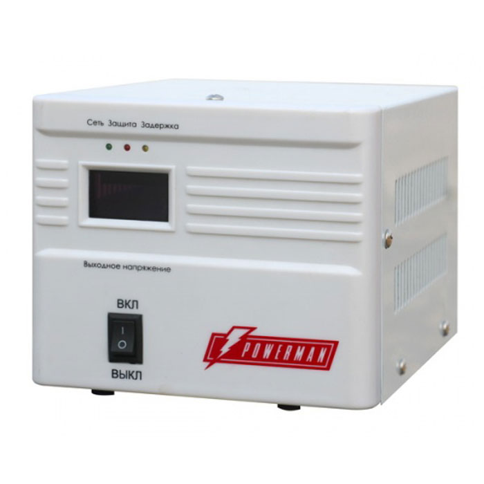 Фото - Стабилизатор Powerman AVS 500A стабилизатор powerman avs 500p
