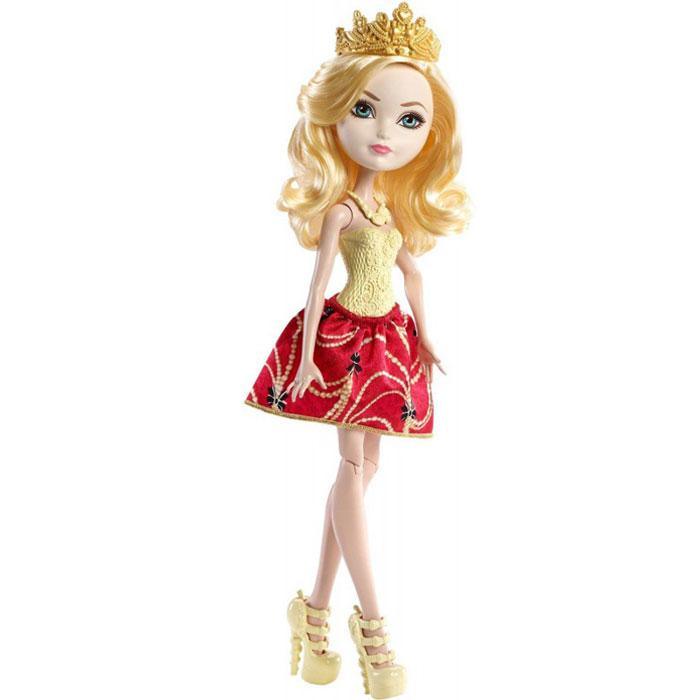 кукла mattel ever after high сказка наизнанку седар вуд cdm49 cdm51 Кукла Mattel Ever After High Базовая Эппл Уайт DLB36