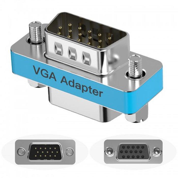 Конвертер Переходник VGA(M) - VGA(F) Vention (DDAI0) bluetooth адаптер vention cddw0