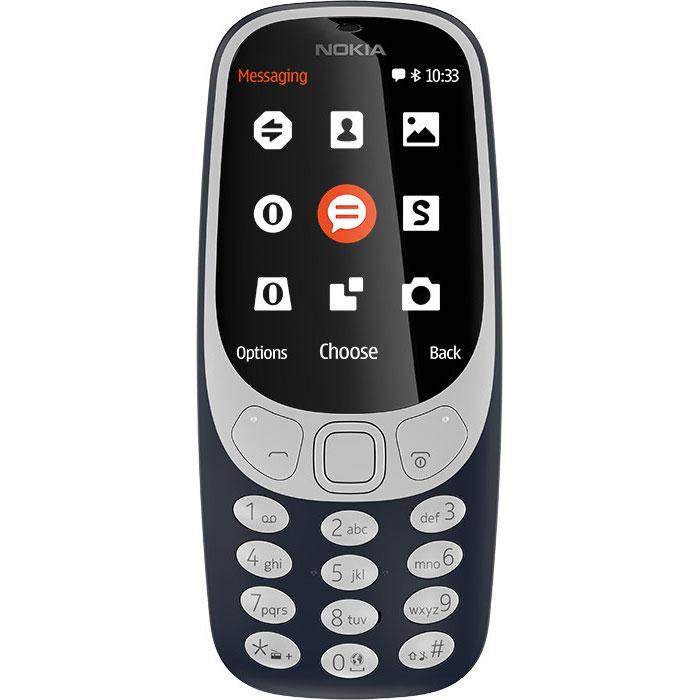 Фото - Мобильный телефон Nokia 3310 Dual Sim (2017) Blue мобильный телефон nokia 3310 dual sim серый