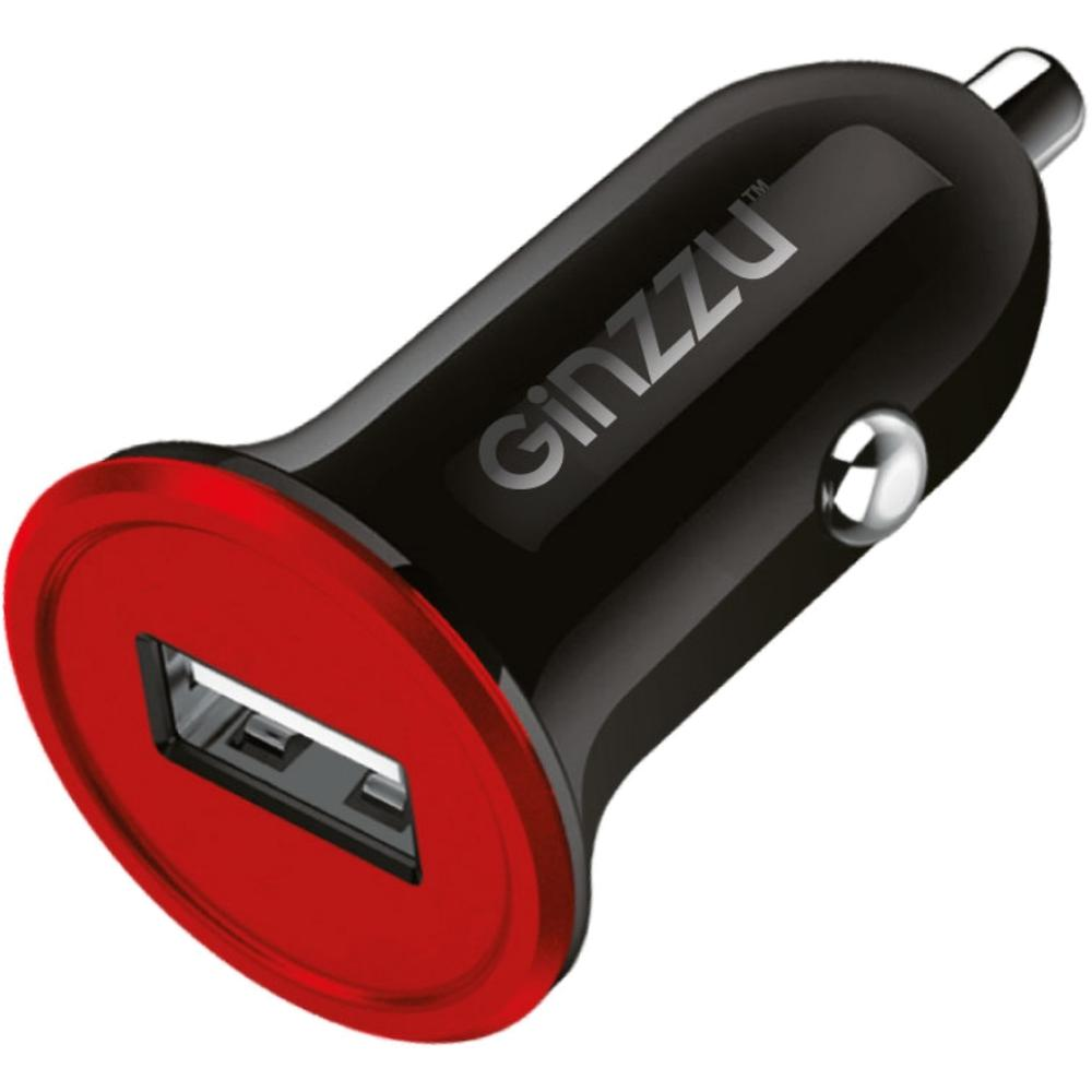 Фото - Автомобильное зарядное устройство Ginzzu GA-4010UB 1A 1xUSB без кабеля, черное автомобильное зарядное устройство ginzzu ga 4310ub 2 1a черный