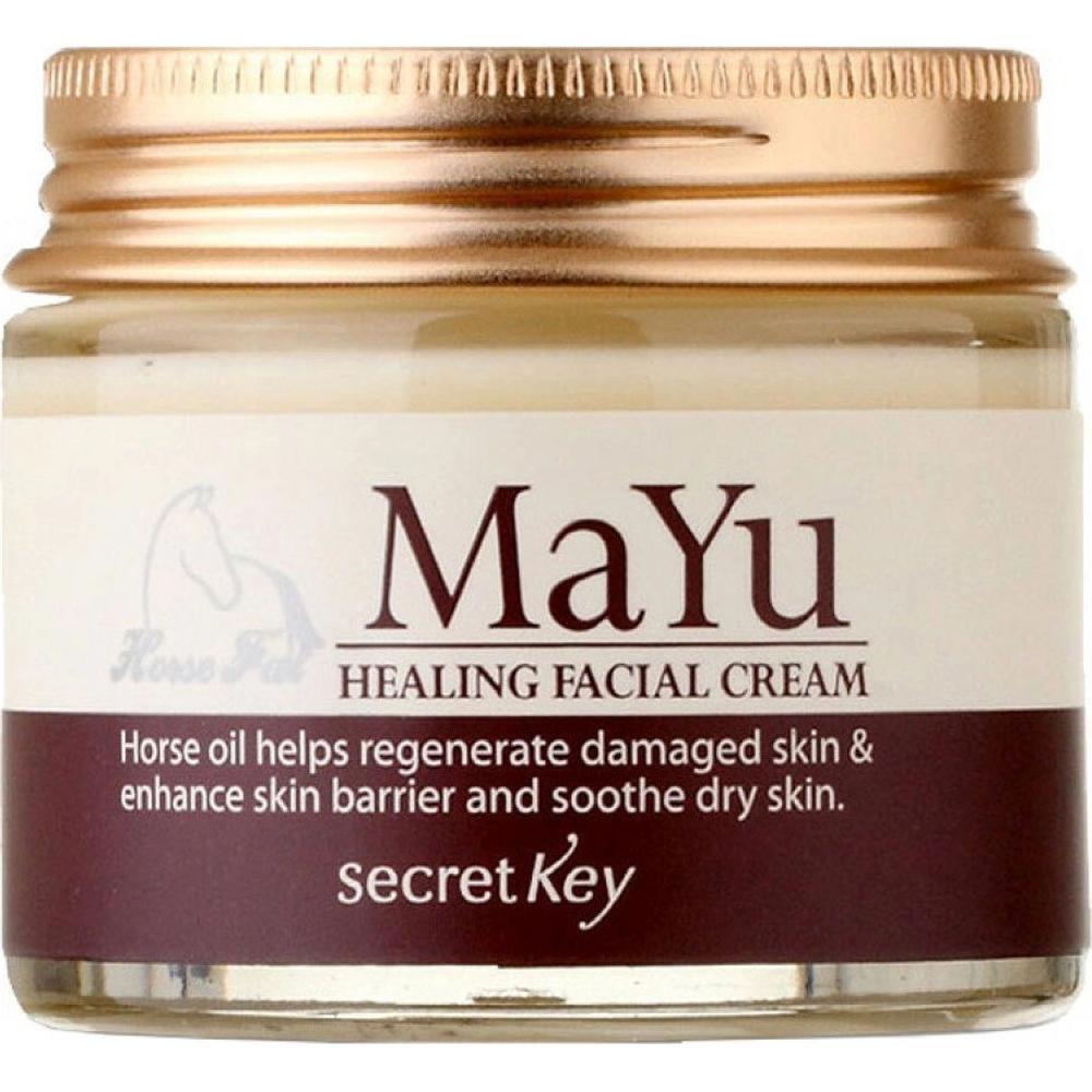 Secret Key Крем для лица с лошадиным жиром MaYu HEALING FACIAL CREAM, 70 г. недорого