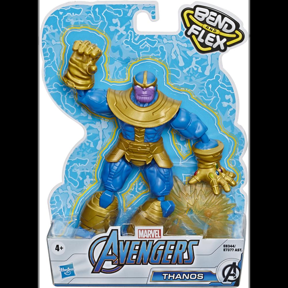Фото - Avengers Hasbro Фигурка Бенди Мстители 15 см E7377 Танос avengers hasbro фигурка бенди мстители 15 см e7377 капитан америка