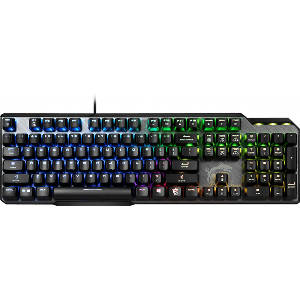 Фото - Клавиатура MSI GK50 Elite Black USB клавиатура msi gk50 elite ru usb черный [s11 04ru226 cla]