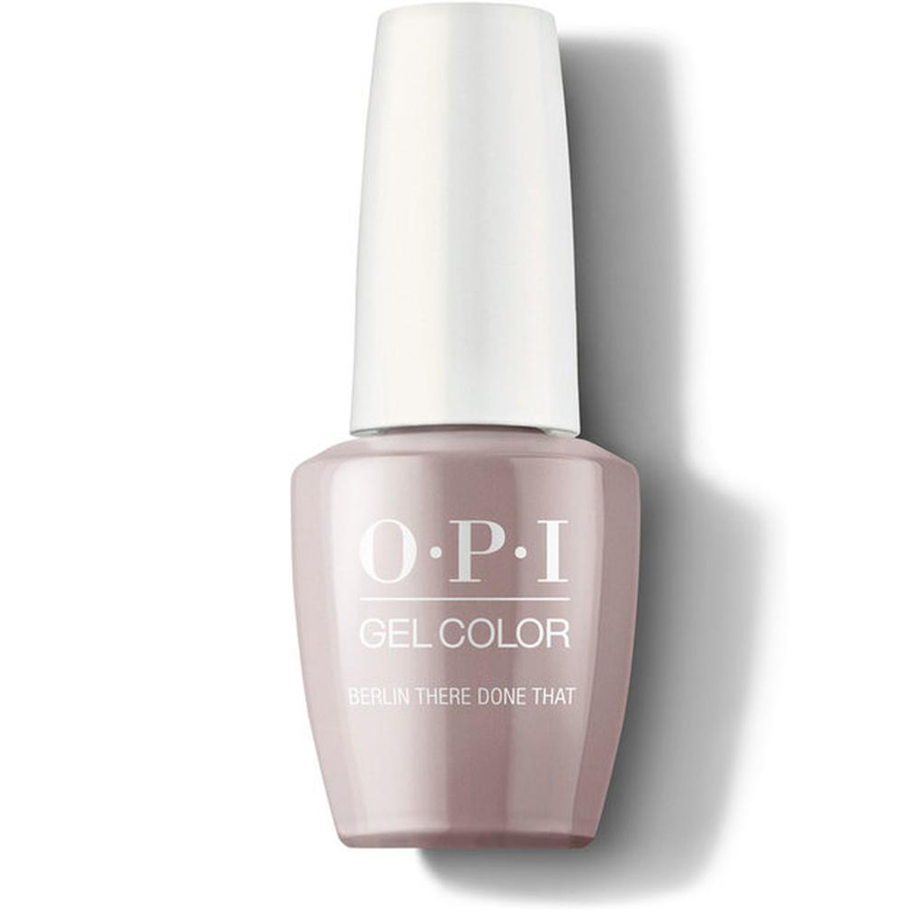OPI Гель-лак для ногтей GelColor Iconic Berlin There Done That, 15 мл. гель лак для ногтей opi gelcolor lisbon 15 мл tagus in that selfie