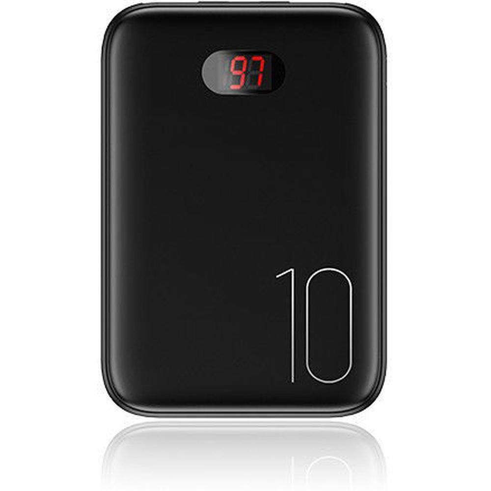 Фото - Внешний аккумулятор Usams US-CD66 10000mAh черный внешний аккумулятор hiper mps10000 10000mah синий