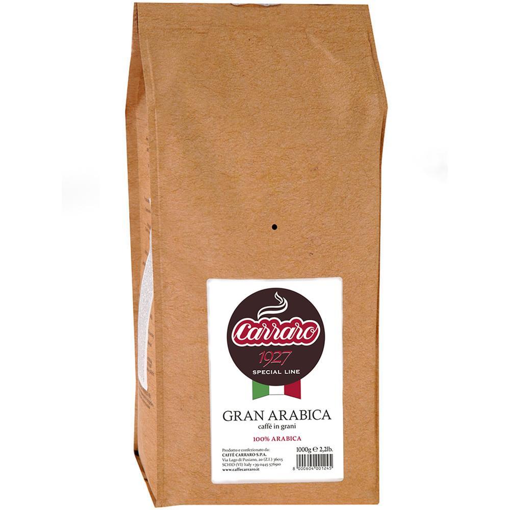 Фото - Кофе в зернах Carraro Espresso Gran Arabica 1 кг кофе saquella кофе в зернах espresso gran arabica 250 г