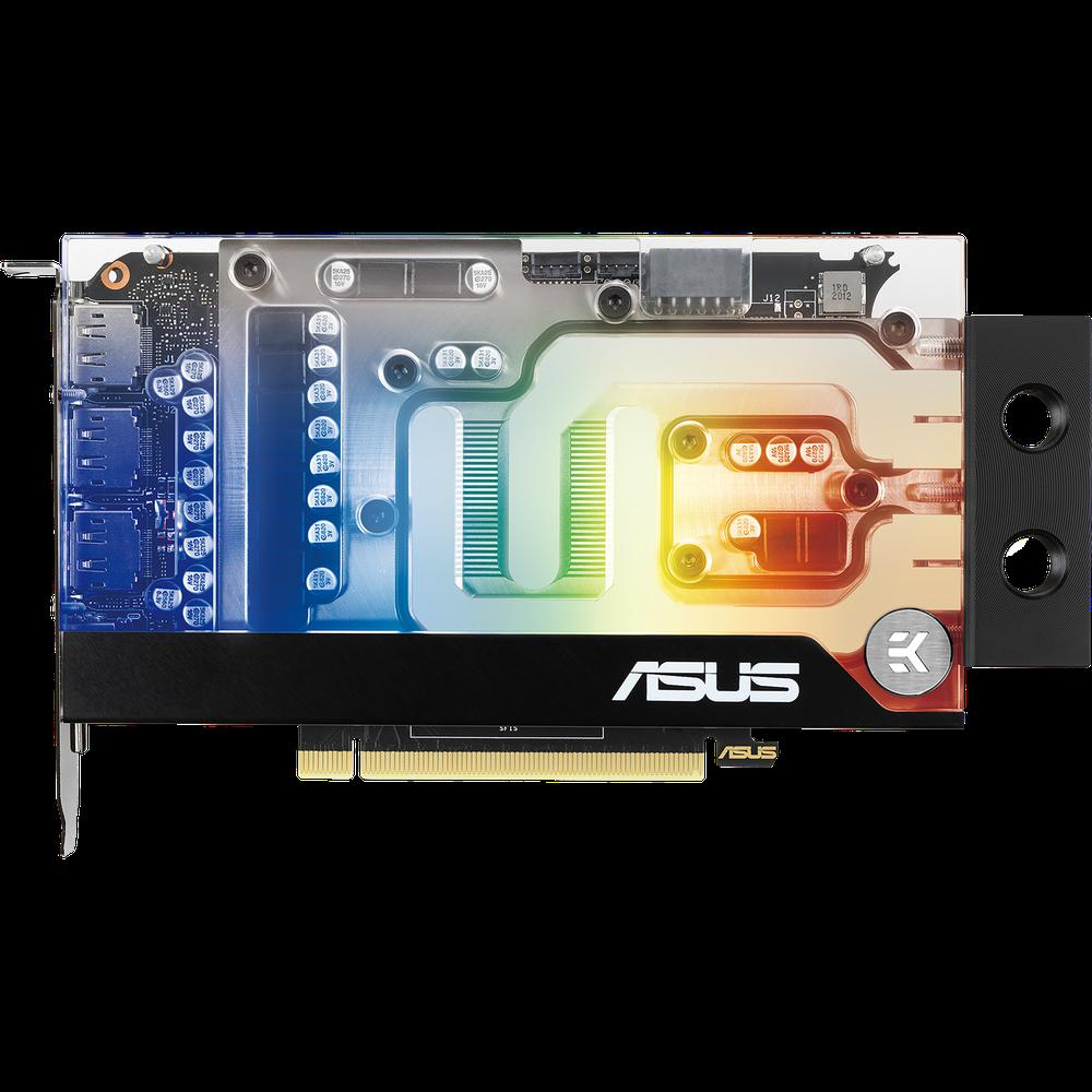 Видеокарта ASUS GeForce RTX 3070 8192Mb, EKWB 8G (RTX3070-8G-EK) HDMI, 3xDP, Ret