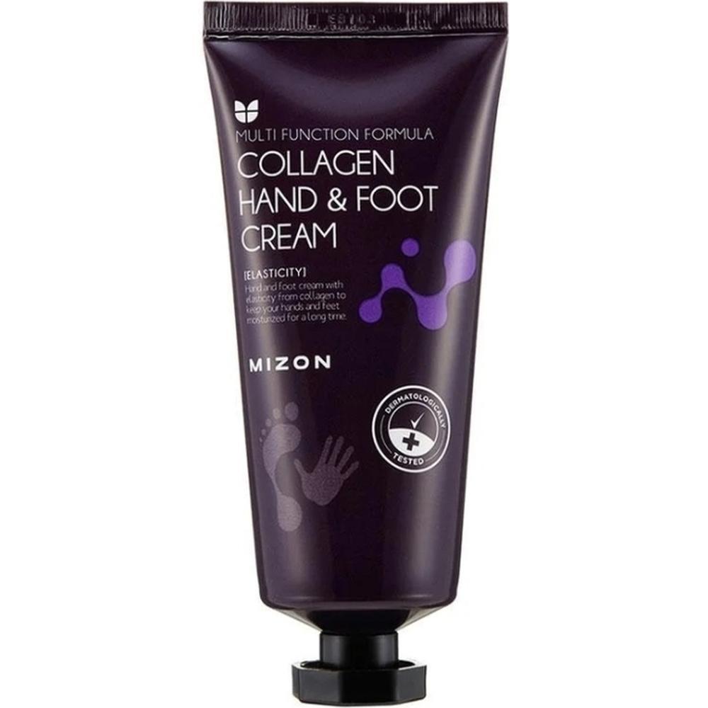 Фото - MIZON Крем для рук и ног с коллагеном COLLAGEN HAND & FOOT CREAM, 100 мл. крем для рук с коллагеном 7% natural s o s hand cream collagen 500мл