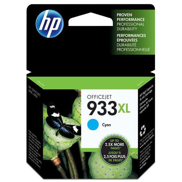 Фото - Картридж HP CN054AE №933XL Cyan для Officejet 6100/6600/6700 картридж hp cn053ae 932xl black для officejet 6100 6600 6700