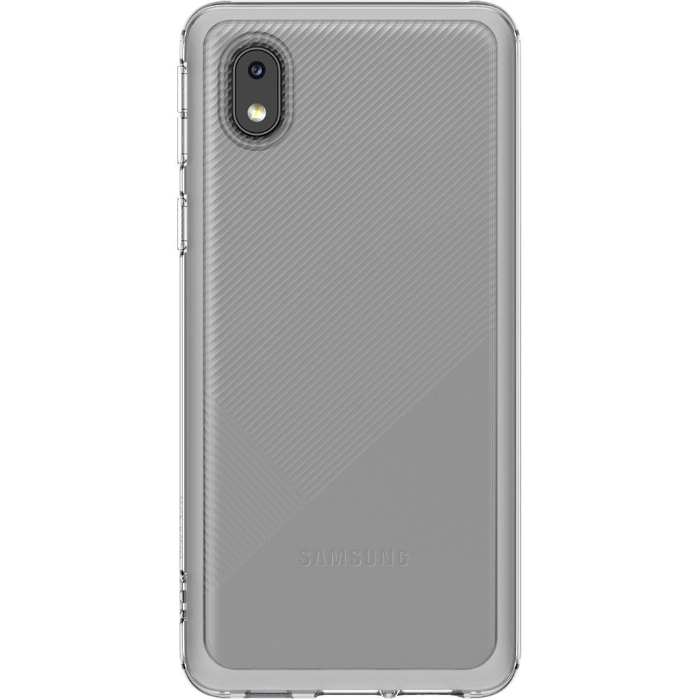 Фото - Чехол для Samsung Galaxy A01 Core SM-A013 Soft Clear Cover прозрачный чехол для samsung galaxy note 10 2019 sm n970 clear cover прозрачный