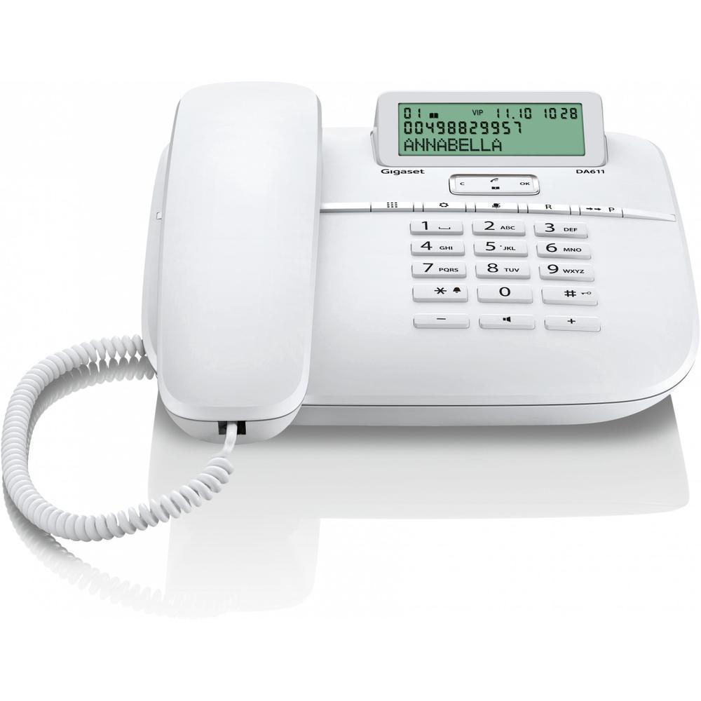 Телефон Gigaset DA611 белый