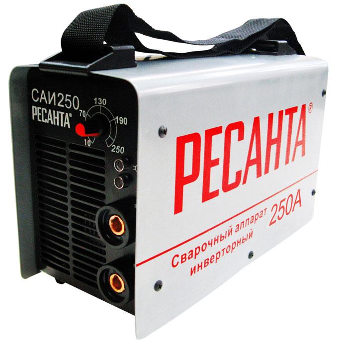 Сварочный инвертор РЕСАНТА САИ-250 сварочный инвертор ресанта инвертор сварочный саи 250 в кейсе