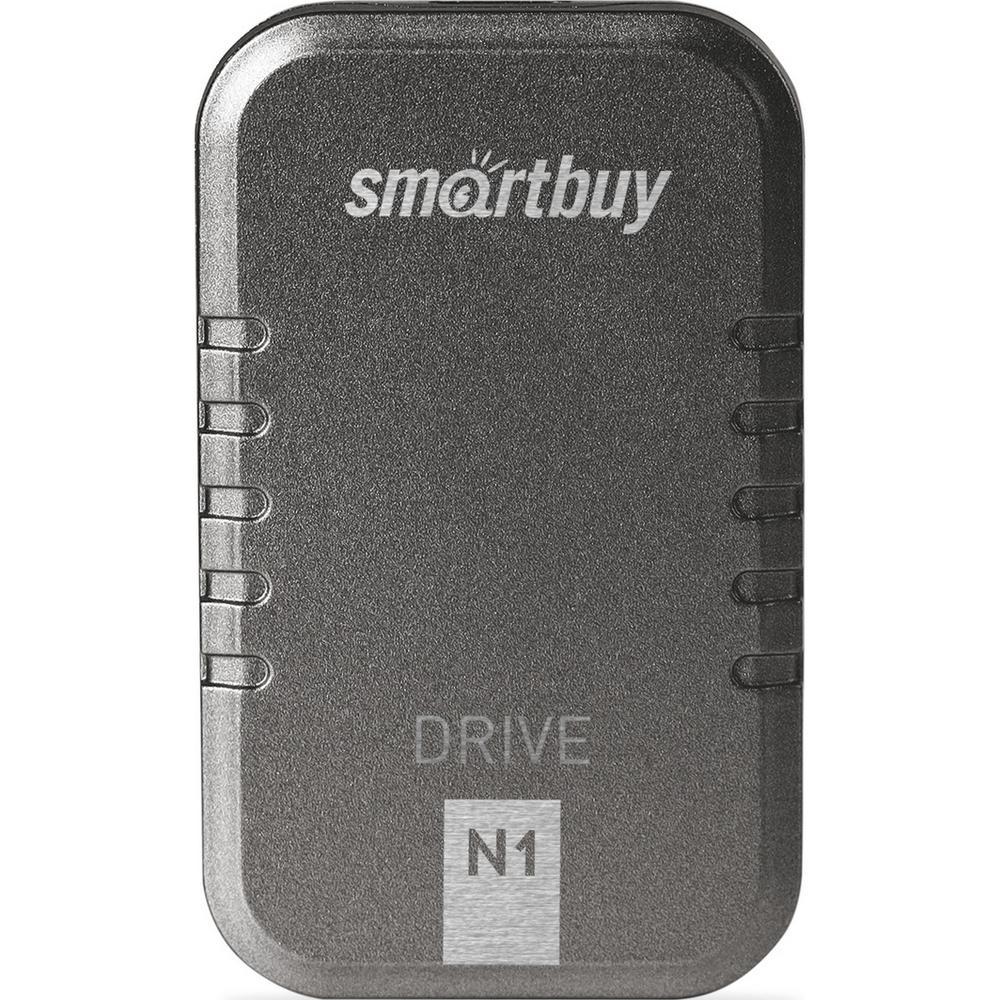 Фото - Внешний SSD-накопитель 1.8 512Gb Smartbuy N1 Drive SB512GB-N1G-U31C (SSD) USB 3.1, Серый внешний ssd накопитель 1 8 512gb smartbuy s3 drive sb512gb s3dw 18su30 ssd usb 3 0 белый
