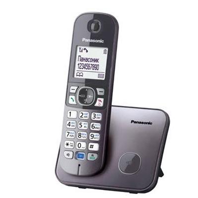 Радиотелефон Panasonic KX-TG6811RUB черный радиотелефон