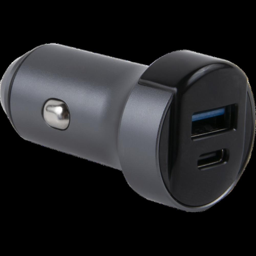 Автомобильное зарядное устройство Red Line АС-18 USB A + Type-C автомобильное зарядное устройство red line tech usb qс 3 0 18w и type c pd 18w модель ас 19 3a серый