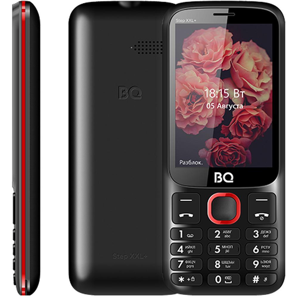 Мобильный телефон BQ Mobile BQ-3590 Step XXL+ Black/Red мобильный телефон bq step xxl 3590 64mb черный синий 2sim 3 5 tft 320x480