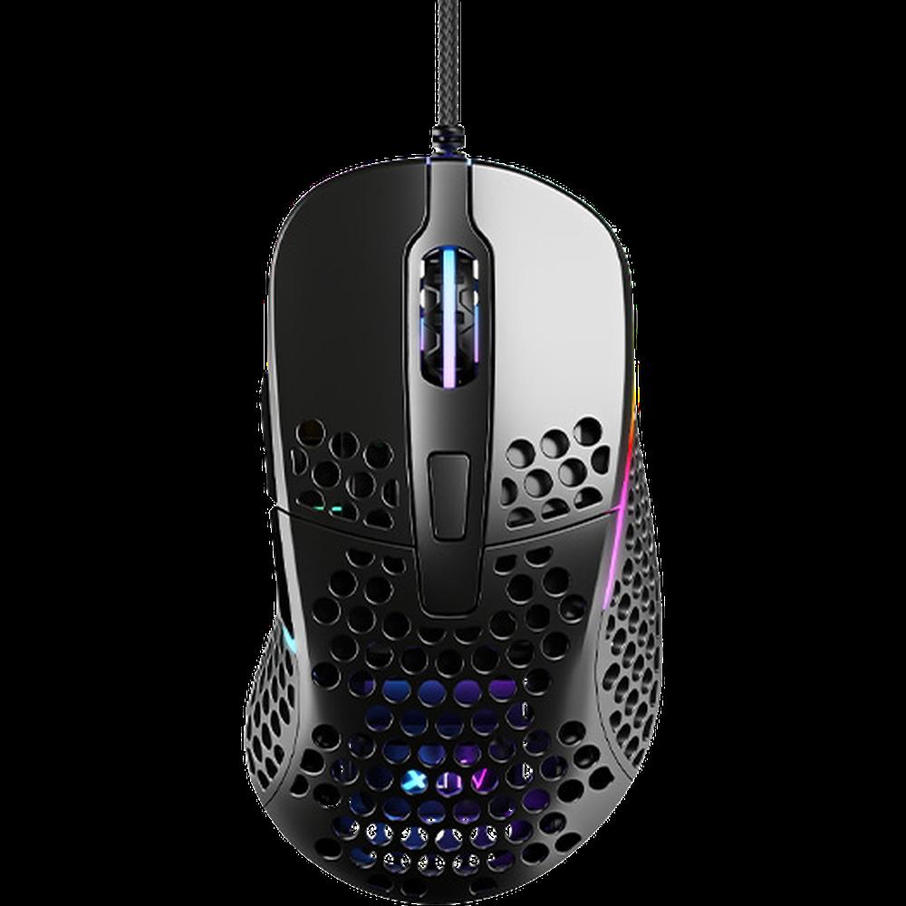 Мышь Xtrfy M4 RGB Black проводная